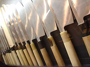 Japanese kitchen knives - Hōchō is an important element which determines the taste of Japanese cuisine.