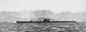 Japanese submarine I-175 in 1941