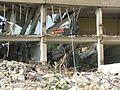 Jasło - Rozbiórka starego budynku przy ul. Jana Pawła II (471503925).jpg
