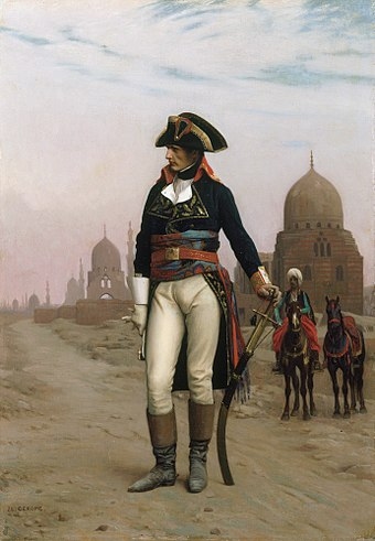 Napoleon in Cairo, by Jean-Leon Gerome, 19th century, Princeton University Art Museum Jean-Leon Gerome 002.jpg