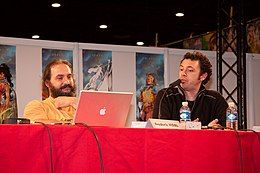 Jean-Louis Mourier and Didier Tarquin 20071102 Chibi Japan Expo 4.jpg