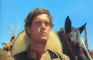 Jeffrey Hunter - Jeffrey Hunter as Martin Pawley in The Searchers