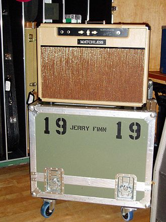 Jerry Finn - Finn's recording equipment at Conway Recording Studios in September 2003.