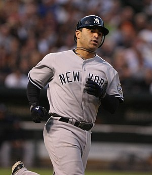 Jerry Hairston Jr. - Image: Jerry Hairston, Jr. NYY