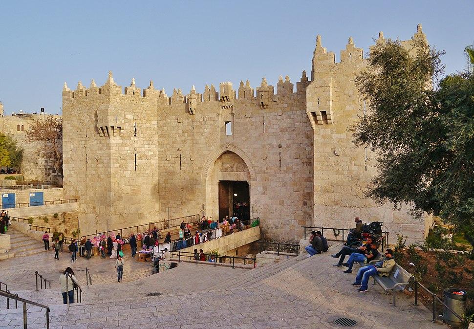 Jerusalem Damaskustor 1