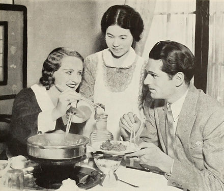 Olivier, with his first wife Jill Esmond (left), in 1932 Jill Esmond and Laurence Olivier 1932.jpg