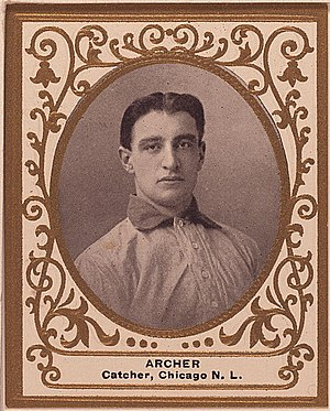 Jimmy Archer - Image: Jimmy Archer Baseball Card