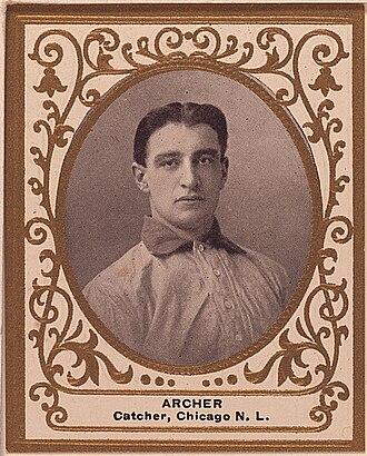 Jimmy Archer - Image: Jimmy Archer Baseball Card