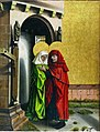 Joachim and Anne Meeting at the Golden Gate by Konrad Witz Kunstmuseum Basel 647.jpg