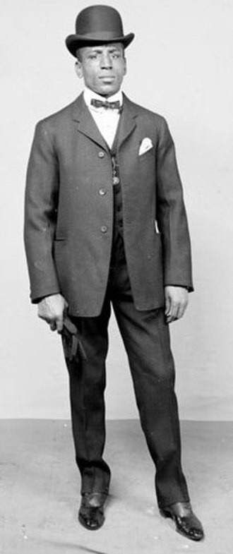 Joe Gans - Portrait of Gans
