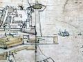 Johann Caspar Ulinger, Zürich 1738 Vedute Teilansicht Marinehafen und Schiffe .png