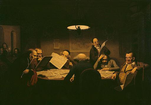 Johann Peter Hasenclever - Das Lesekabinett - Google Art Project