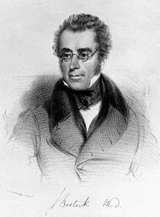 John Bostock (physician) - John Bostock c. 1836