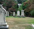 John Frederick Parker grave - Glenwood Cemetery - 2014-09-19.jpg