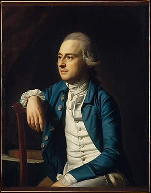 Gulian Verplanck (speaker) - Gulian Verplanck  Painting by John Singleton Copley, 1771