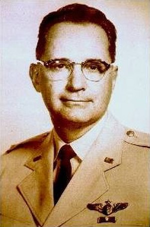 John Stapp - Stapp in his Air Force uniform