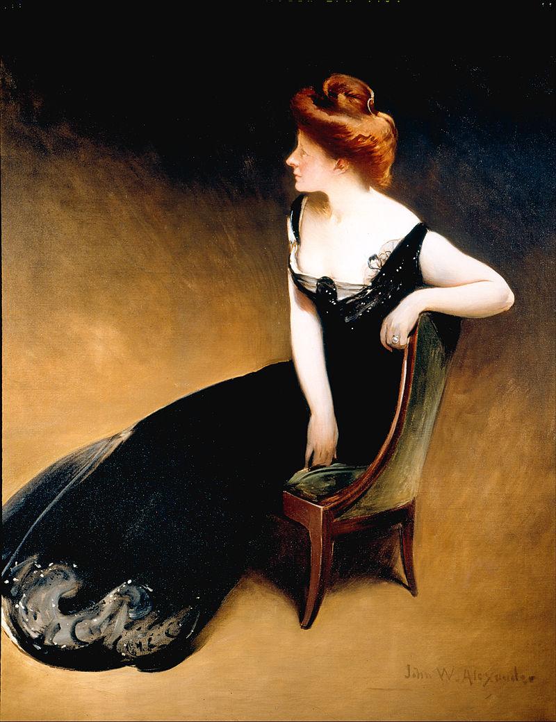 Джон Уайт Александр - Портрет миссис Ви, миссис Герман Дюриа - Google Art Project.jpg
