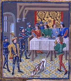Arrestation de Charles le Mauvais.
