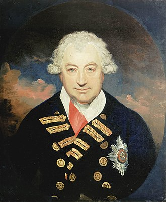 Viscount St Vincent - The Earl of St Vincent