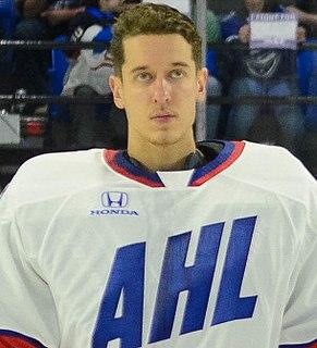 Jordan Binnington Canadian ice hockey player