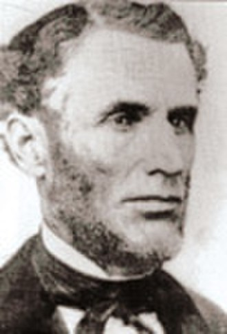 Joel Foster - Photograph of Judge Joel Foster, Owned by the family and on display at the Wisconsin Pierce County Historical Society.