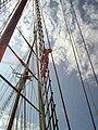 Jumping off of the rigging, Shenandoah.jpg