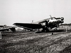 Junkers Ju 86 - The only complete Junkers Ju 86 remaining, (1976)