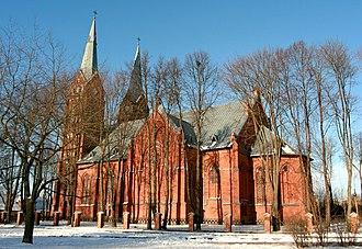 Jurbarkas - Church of the Holy Trinity