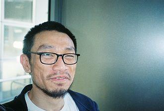 Justin Chin - Portrait of Justin Chin by Kevin Killian (Jan. 6 2006)