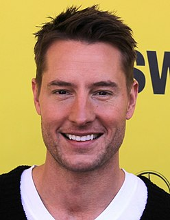 Justin Hartley American actor