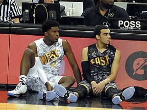 Tyus Jones - Image: Justise Winslow and Tyus Jones
