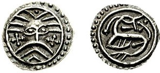 Danes (Germanic tribe) - Image: Jutland sceatta 710 701247