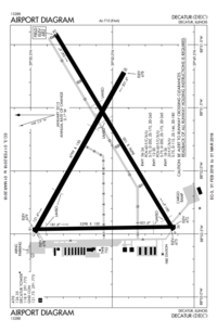 FAA airport diagram (August 2009)