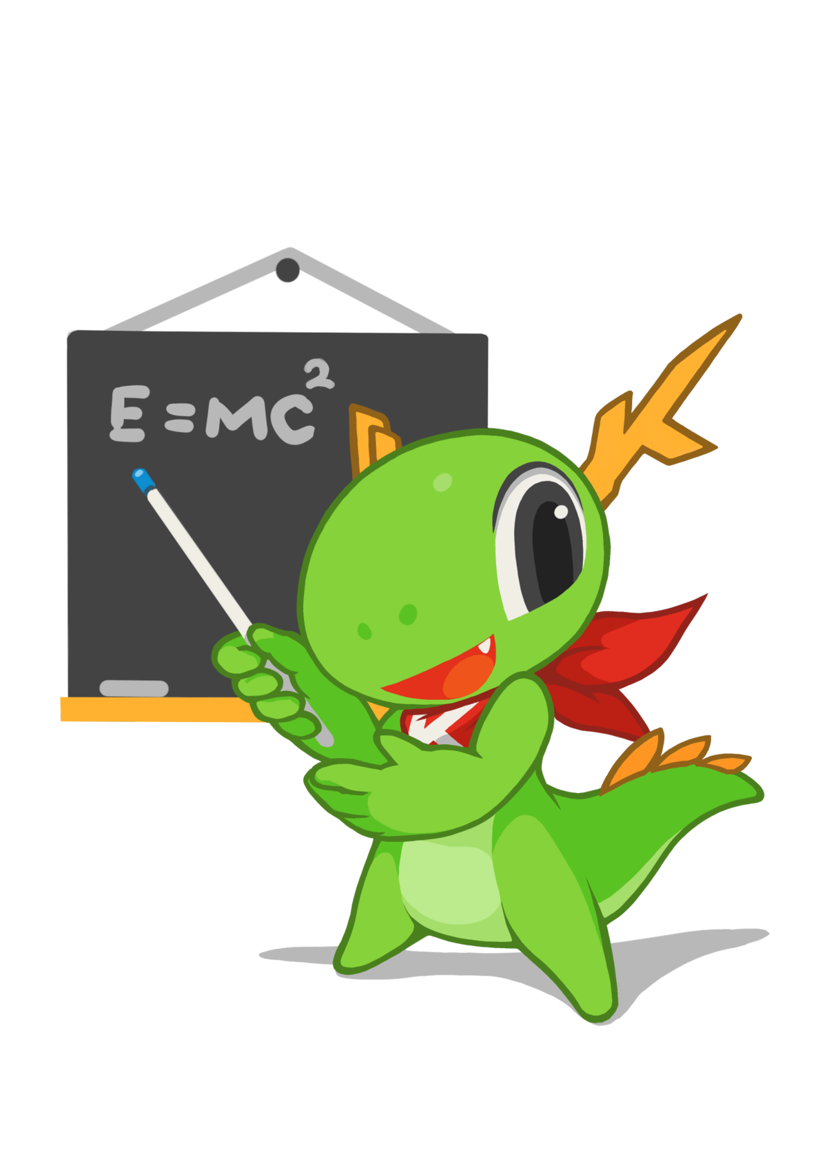 Px Kde Mascot Konqi For Presentation And Education Applications