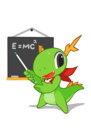 KDE Education Project - Image: KDE mascot Konqi for presentation and education applications