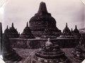 KITLV - 142951 - Kurkdjian, N.V. Photografisch Atelier - Soerabaia-Java - Stupas of the Borobudur in Magelang - circa 1920.tif