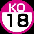 KO-18 station number.png
