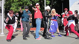 KOF cosplayers at FanimeCon 2010-05-30.JPG