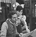 KRO-televisie TV-spel Ik herinner mij mama Nelleke Knegtmans en Jan Hundling, Bestanddeelnr 913-9825.jpg