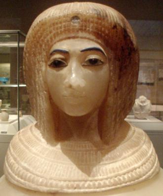 Kiya - Image: KV55 Canopic Jar Amarna Queen Close Up Metropolitan Museum