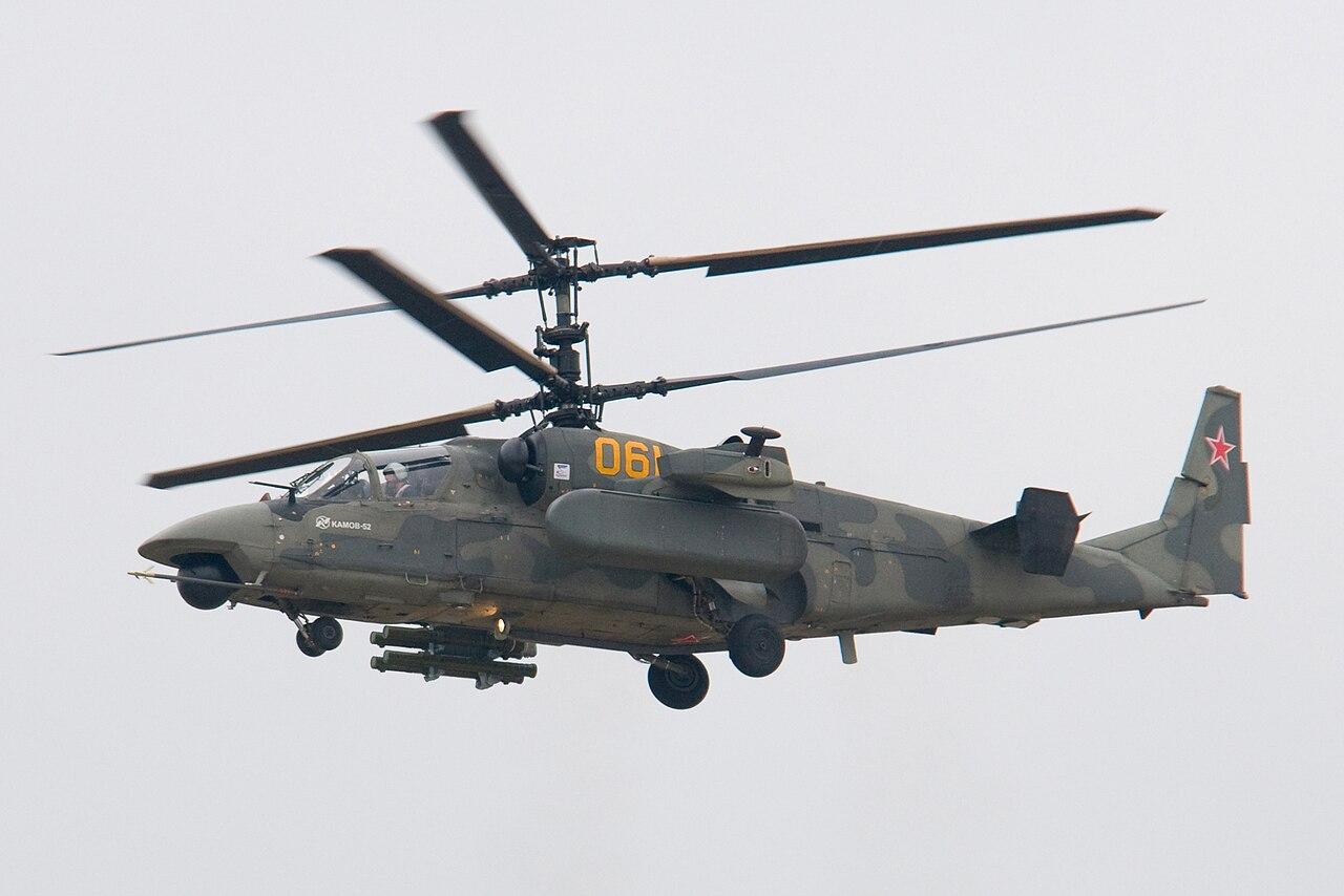 Kamov Ka-52 Alligator: el nuevo carro del infierno - Página 3 1280px-Ka-52_at_MAKS-2009