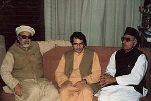Ajmal Khattak - Ajmal Khattak with Kabir Stori and Afzal Khan Lala