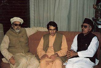Ajmal Khattak - Ajmal Khattak with Kabir Stori and Afzal Khan Lala