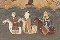 Kai Khusrau, Farangis, and Giv crossing the River Jihun.jpg