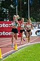 Kalevan Kisat 2018 - Women's 5000 m - Alisa Vainio, Janica Rauma, Kristiina Mäki 4.jpg