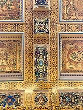 Fil:Kalmor Castle ceiling.jpg