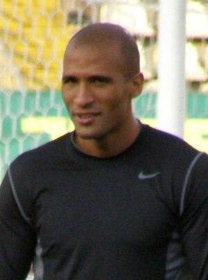 Diomansy Kamara - Kamara training for Fulham in 2009
