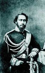 Kamehameha IV, photograph by Henry L. Chase, about 1862, albumen silver print.jpg