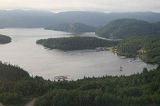 Labrador - Aerial view of Kami, Labrador