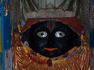 Chitrakoot, Madhya Pradesh - Shri Kamta Nath 2nd face on Kamadgiri parikrma path